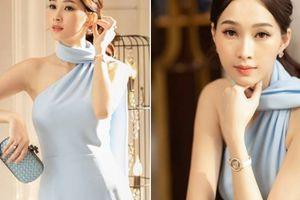 Hoa hậu Đặng Thu Thảo tiết lộ cách để giảm 10kg sau sinh