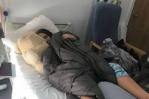 Thiếu nữ Anh bị liệt do hít bóng cười