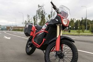 Hãng vũ khí Nga ra mắt xe máy điện phục vụ mục đích dân sự