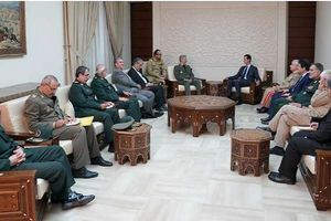 Iran và Syria ký thỏa thuận hợp tác quân sự