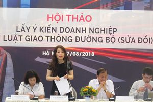 Xem xét sửa đổi 7 nhóm vấn đề trong Luật Giao thông đường bộ