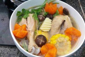 Cách làm canh gà hầm nấm vừa ngon, vừa bổ cho cả nhà
