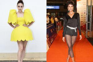 Mặc trang phục khó hiểu, Hoa hậu H'Hen Niê và Minh Hằng 'dắt tay' nhau lọt Top sao xấu của tuần