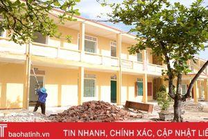 Cẩm Xuyên huy động gần 126 tỷ đồng xây dựng, nâng cấp trường học