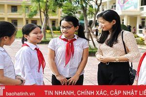 Thành phố Hà Tĩnh: Thêm 12 trường đạt chuẩn quốc gia