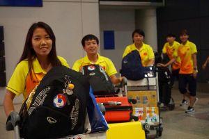Hành trình mệt mỏi từ ASIAD của tuyển nữ Việt Nam: Bay 4 chặng, delay hết 2