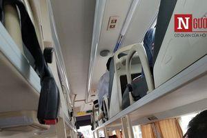Những dây đai an toàn trên xe khách... bị lãng quên