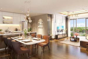 'Bóc' thiết kế căn hộ 3 phòng ngủ tại dự án Eco-Green Saigon