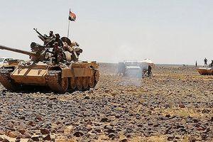 Quân đội Syria cày nát vị trí IS tại chảo lửa Sweida