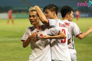 Olympic Việt Nam viết tiếp lịch sử khi đánh bại Syria để dành vé vào vòng bán kết ASIAD 2018