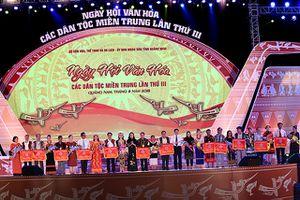Đặc sắc Ngày hội văn hóa các dân tộc miền Trung lần thứ III