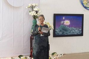 Nữ họa sĩ 83 tuổi Nguyễn Thị Tâm: 'Họa sĩ không nghèo như nhiều người tưởng'