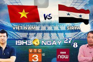 Xem trực tiếp trận Olympic Việt Nam vs Olympic Syria trên kênh nào?