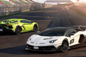 Lamborghini chính thức giới thiệu Aventador SVJ