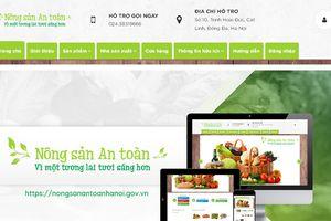 Ra mắt trang nông sản an toàn Hà Nội