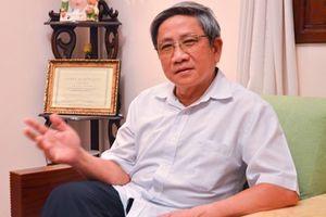 GS Nguyễn Minh Thuyết lên tiếng về clip dạy học sinh đánh vần Tiếng Việt