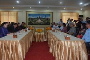 Hội Hữu nghị hai nước Việt Nam và Campuchia tăng cường hợp tác