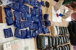 Phá vụ vận chuyển 65.800 viên ma túy tổng hợp