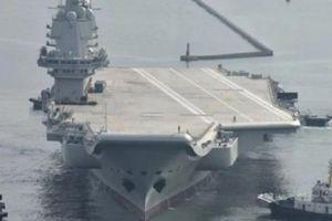 Tàu sân bay nội địa đầu tiên TQ ra biển thử nghiệm chiến đấu lần cuối