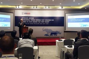 USAID hỗ trợ sáng kiến 'Chí' để giảm nhu cầu dùng sừng tê giác