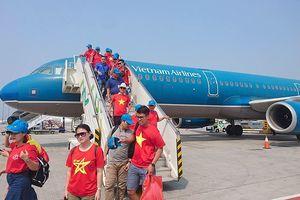 Thêm nhiều chuyến chuyên cơ tiếp sức Olympic Việt Nam