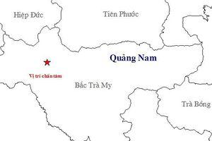 Động đất tại Quảng Nam