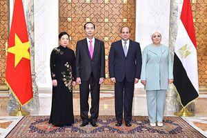 Việt Nam - Ai Cập ký kết biên bản ghi nhớ trong nhiều lĩnh vực hợp tác