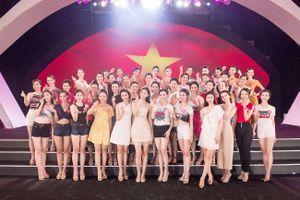 Thí sinh Hoa hậu Việt Nam gửi lời chúc mừng đội tuyển Olympic Việt Nam
