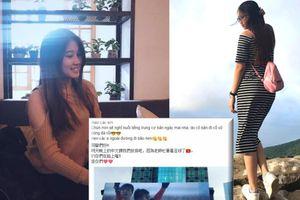 Cô giáo trẻ đẹp cho học trò nghỉ học xem Olympic Việt Nam đá Hàn Quốc, hẹn đi bão