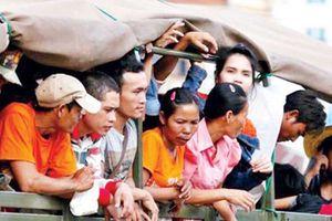 Thái Lan bắt giữ hàng trăm lao động nước ngoài bất hợp pháp