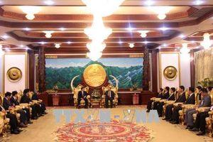 Lãnh đạo Lào đánh giá cao kết quả hợp tác hệ thống tòa án Việt - Lào
