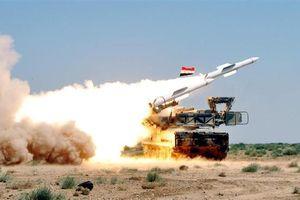 Phòng không Syria vào trạng thái báo động chiến đấu