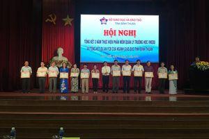 100% trường học tại Bình Thuận đã ứng dụng phần mềm quản lý