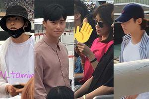 Fan bắt gặp Ha Ji Won, Park Bo Gum, Park Seo Joon và Park Hyung Sik tại concert của BTS