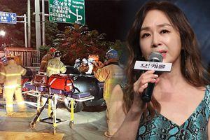 Park Hae Mi của 'Gia đình là số 1' khóc cạn nước mắt khi chồng gây tai nạn làm 4 diễn viên chết và bị thương