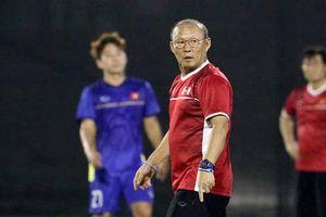 Thầy Park 'gây bão' với màn khích tướng U23 Việt Nam đấu Hàn Quốc