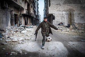 Chìm trong chiến tranh, nhưng đội tuyển Syria lại là đối thủ đáng gờm không thể không kiêng nể