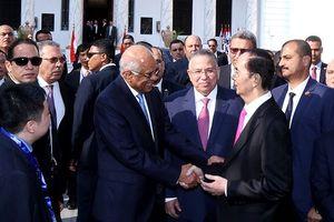 Chủ tịch nước Trần Đại Quang hội kiến với Chủ tịch Quốc hội Ai Cập