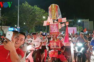 Huế 'nhuộm đỏ' vì Olympic Việt Nam vào bán kết