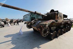 Nga trưng bày vũ khí thu được của phiến quân Syria tại triển lãm Army 2018