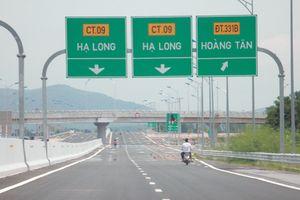 Giờ thông xe chính thức đường cao tốc Hạ Long – Hải Phòng ngày 1/9