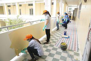 AkzoNobel hỗ trợ hơn 60.000 lít sơn cho các trường học khó khăn