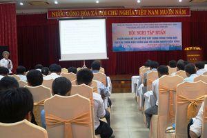 Tập huấn triển khai đề án hỗ trợ xây dựng nông thôn mới