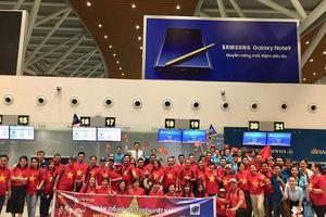 Thuê nguyên máy bay chở CĐV đến Indonesia cổ vũ cho Olympic VN