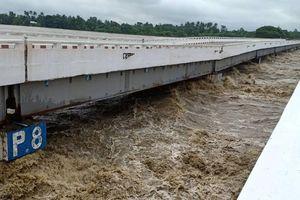 Vỡ đập ở Myanmar, thị trấn, làng mạc chìm trong nước lũ