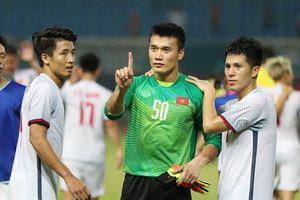 Thủ môn Tiến Dũng muốn thắng Son Heung-min và Hàn Quốc trong 90 phút
