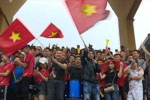 Bất chấp thất bại trước U23 Hàn Quốc, CĐV vẫn dành tình cảm nhiệt thành cho U23 Việt Nam