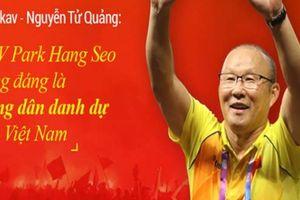 'Cha đẻ' Bphone gây 'sốc' khi phát biểu về ông Park Hang Seo