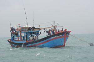 Tàu cá Quảng Ngãi trình báo việc bị tấn công ở Hoàng Sa
