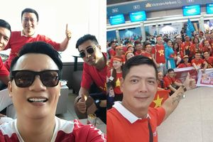 Sao Việt sang Indonesia ủng hộ tuyển Việt Nam